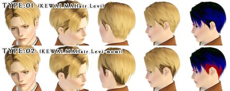 attack on titan sims 3 hair levi hair for the sims3 kewai dou