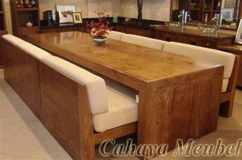 Meja Makan Kayu Gelondongan meja makan blok minimalis mewah meja makan mewah murah