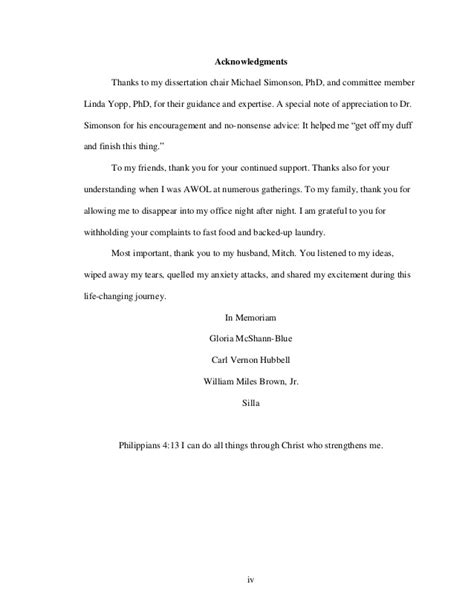 Thank You Letter Phd dr s cooper dissertation