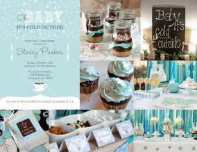 winter baby shower invitations and inspiration