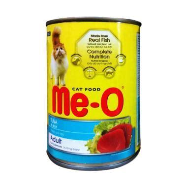 Produk Brand Jio Cat Food jual me o cat food rasa tuna kemasan kaleng makanan kucing