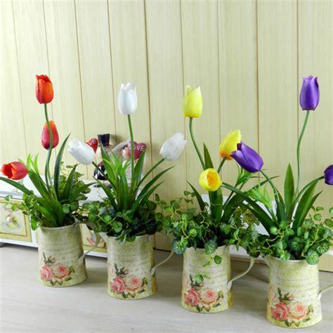 Flower Decoration For Living Room by Fashion Derlook Bouquet Floor Artificial Flower Set Pu