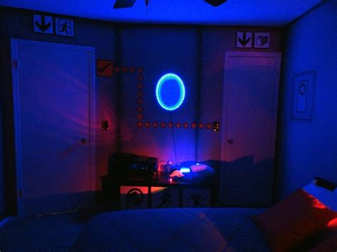 portal room portal as a bedroom is cooler than any cake freakin robotgiant freakin robot
