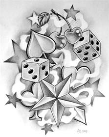 top 25 best dice tattoo ideas on pinterest poker tattoo
