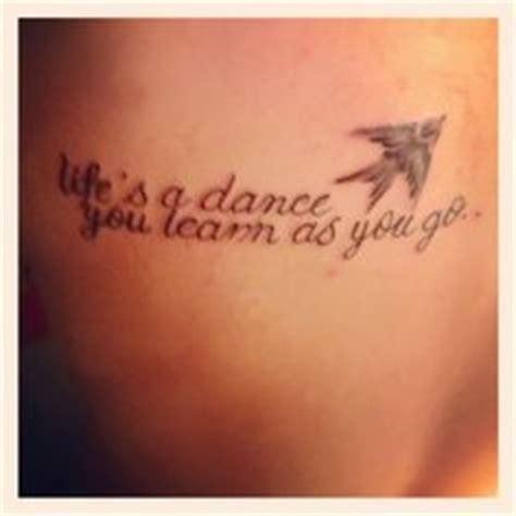 tattoo quotes for dancers dance tattoo quotes quotesgram