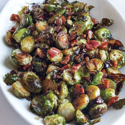 ina garten brussel sprouts pancetta balsamic roasted brussels sprouts ina garten s favorite thanksgiving recipes instyle com