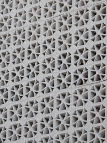 flower pattern concrete blocks mid century decorative concrete a collection of