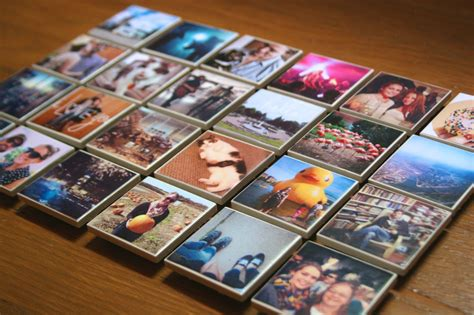 Handmade Fridge Magnets Ideas - diy instagram magnets the surznick common room