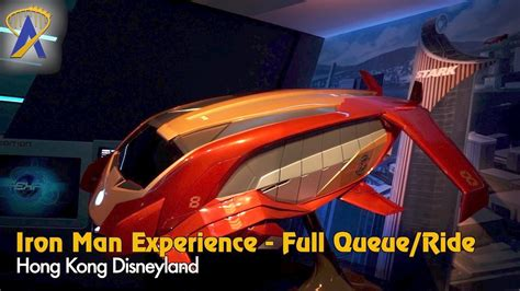 iron man experience full queue ride pov hong kong