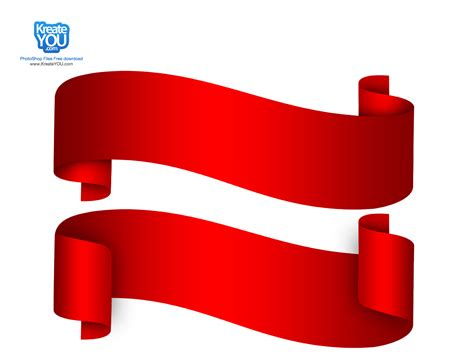 ribbon vector tutorial photoshop 14 red banner psd images free red ribbon banner red