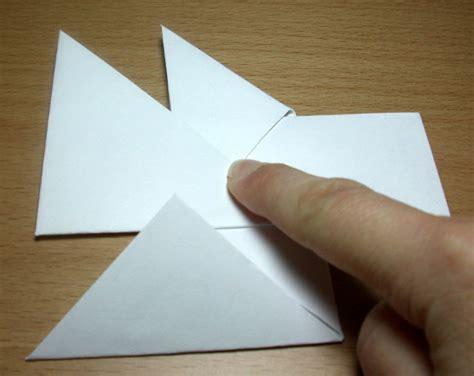 Origami Ls - otaku holls como fazer um shuriken de papel