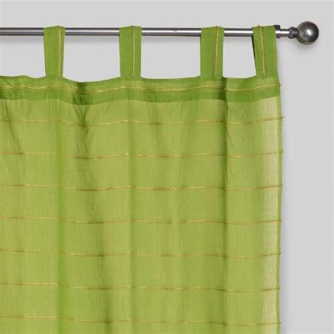 best curtains in the world peridot striped sahaj jute tab top curtains set of 2