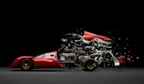 designboom fabian oefner fabian oefner explodes views of classic sports cars
