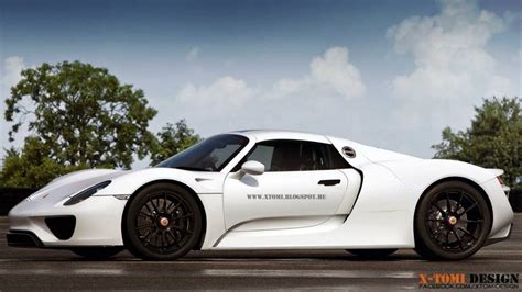 porsche 918 spyder white porsche 918 spyder looks clean in plain white rendering