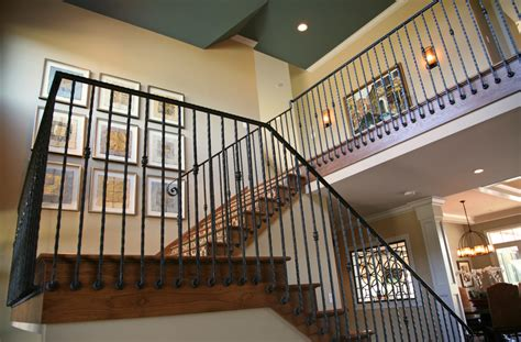Metal Banisters And Railings by Stairs Inspiring Wrought Iron Stair Railings Interior