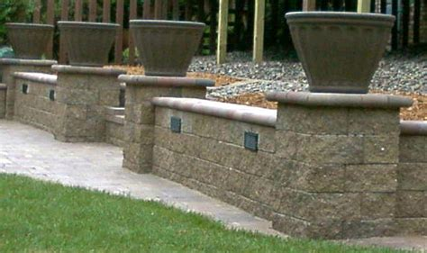 landscape lighting for retaining walls low voltage led landscape lighting by decorative landscapes