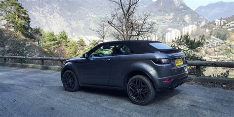 land rover black 2017 2017 range rover evoque convertible review caradvice
