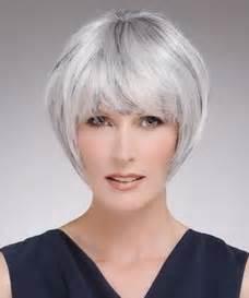 kurzhaarfrisuren frauen graue haare ideen frisuren on newhairstylesformen2014