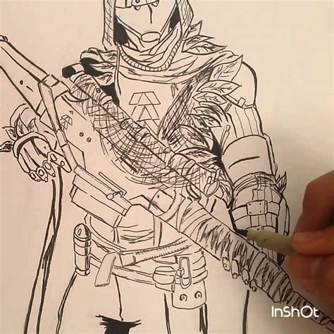 Destiny 2 Sketches by Destiny The Taken King Drawing