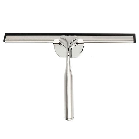 Best Squeegee For Shower Doors by Modern Home Chrome Squeegee Glass Shower Window Cleaner