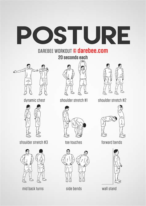 exercises for posture the stand program for better health through posture books posture workout