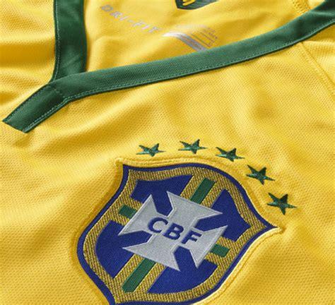 Jersey Sepakbola Cbf Brazil Jersey Sepakbola Cbf Brazil No 3 T Silva Size M Yellow Jakartanotebook