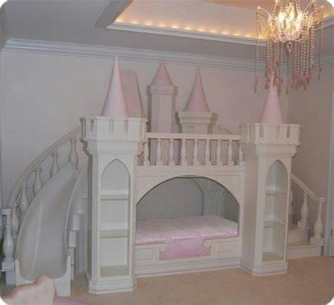 Princess Bunk Bed Castle Princess Castle Bed Sweet Serenity Pinterest