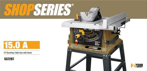Rockwell Shop Series Table Saw by Ss7207 Rockwell Shop Series 15 10 Table Saw With Stand