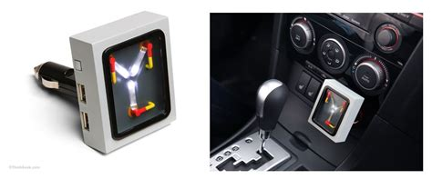 flux capacitor usb wall charger thinkgeek bumps and creates flux capacitor car charger techwinter technology news reviews