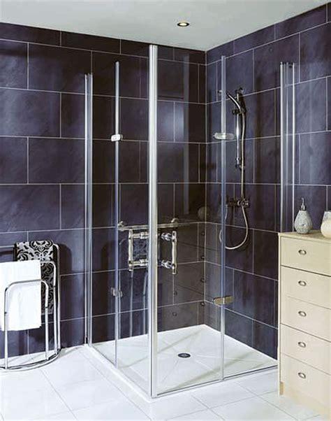 Bi Fold Glass Shower Doors Easa Elegance Height Bi Fold Glass Shower Door L5