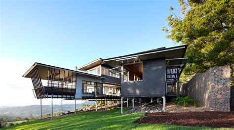 home design architect 2014 glass house mountain house by bark design in maleny australia