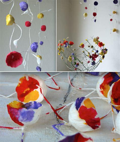 ghirlande di fiori di carta eco wedding design ghirlande di fiori di carta per