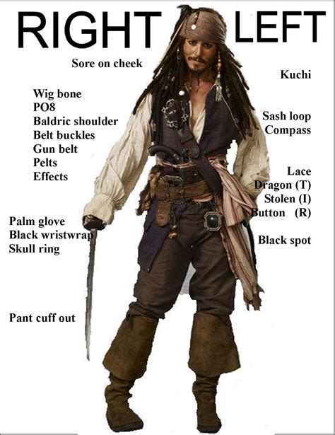 how to create a captain jack sparrow pirate costume jack sparrow what we need for costume halloween