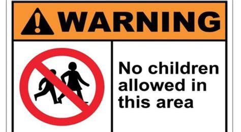 ingresso vietato ristoranti che vietano l entrata ai bambini ecco il caso
