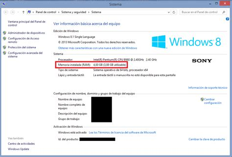 4 gb of ram why is windows 8 using only 1 gb of ram when i 4 gb