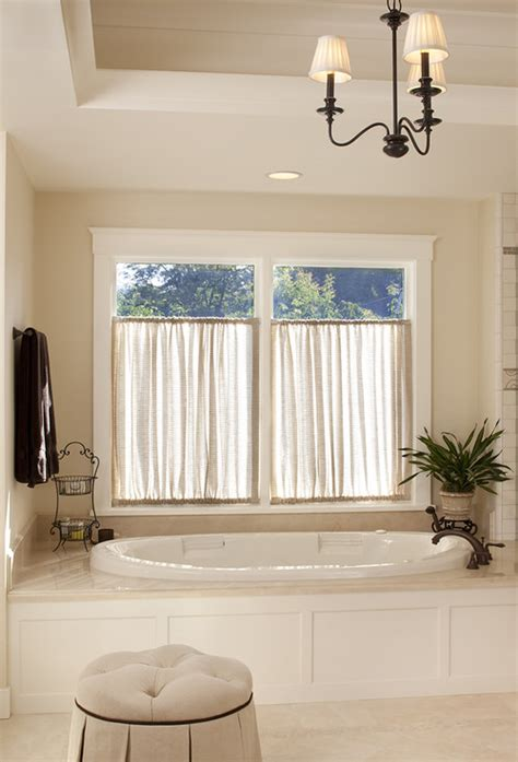 bathroom curtain ideas for windows how to handle this window situation