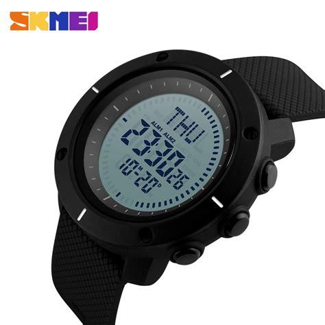 skmei jam tangan digital pria dg1216cm black jakartanotebook