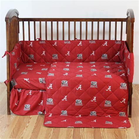 Alabama Crimson Tide Crib Bedding Set Interiordecorating Alabama Crib Bedding