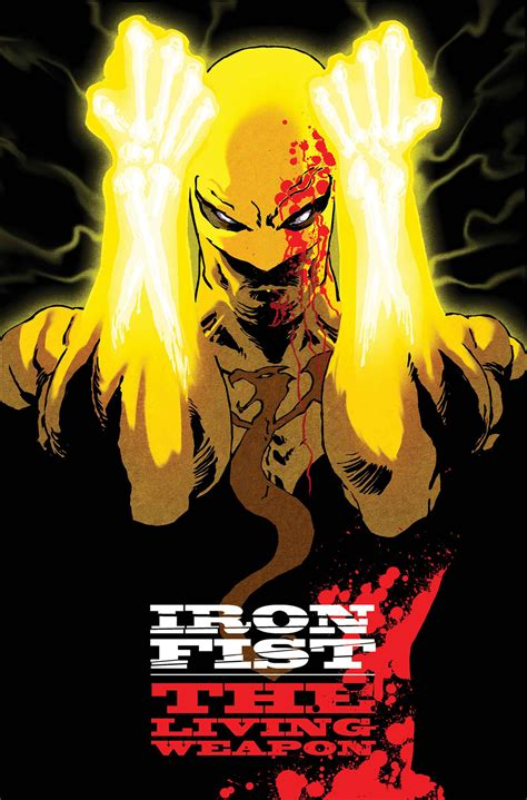iron fist the living 0785154361 previewsworld iron fist living weapon 1 anmn
