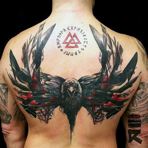 back tattoo creator 70 red ink tattoo designs for men masculine ink ideas