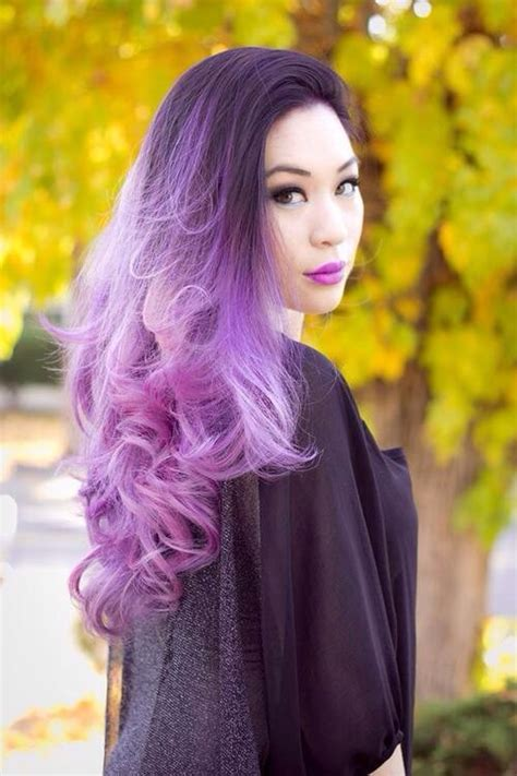 ombre out of fashion 30 luxuriously royal purple ombre hair color ideas