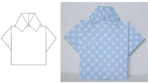 Paper Folding Shirt - tutorial shirt fold operation write home