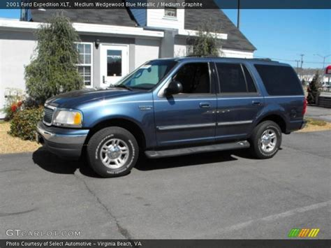 2001 Ford Expedition Xlt by 2001 Ford Expedition Xlt In Medium Wedgewood Blue Metallic