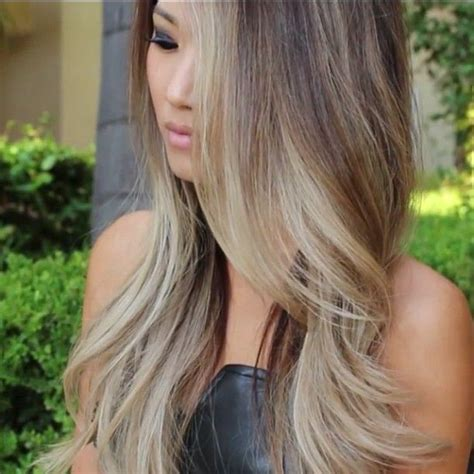 gallery blonde highlights onbre hair color trends 2017 2018 highlights ombre ash
