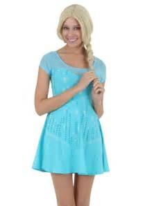 womens i am elsa frozen dress