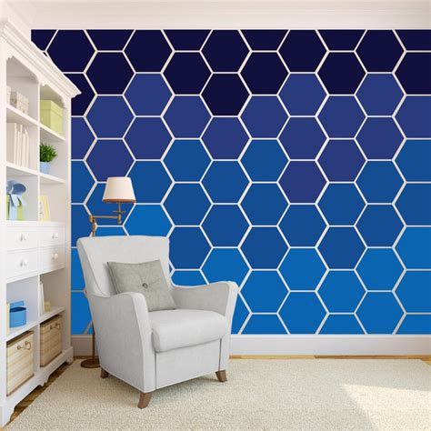 honeycomb pattern vinyl flooring wall patterns hexagon wall art decals wall wall decals