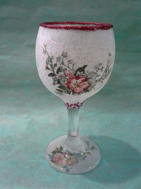 decoupage waterproof how to make decoupage waterproof glass vase decorated