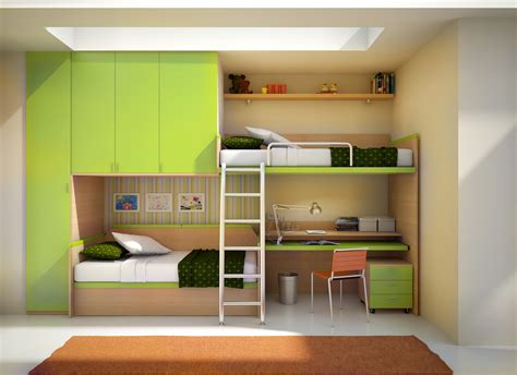 kids bunk bed with desk 12 kids bedrooms with cool built ins