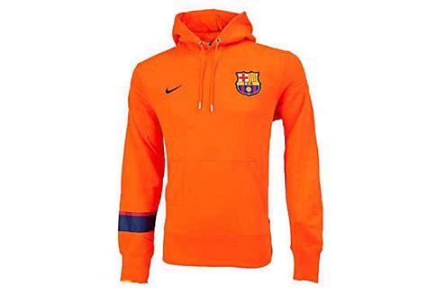 Hoodie Sweater Zipper Liverpool Fc fc barcelona hoody orange nike fcb hoodies