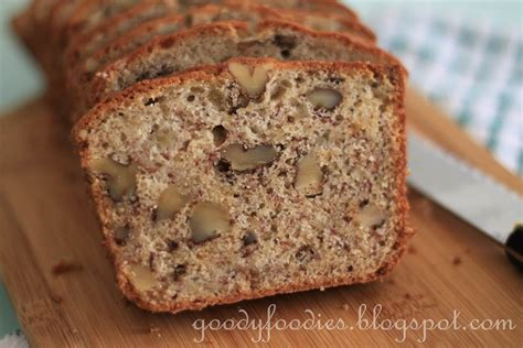 Dieting Recipe Of The Month Banana Walnut Toast by Goodyfoodies Recipe Banana Walnut Bread With Fresh Lemon
